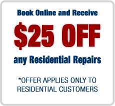 $25 OFF Repair Coupon
